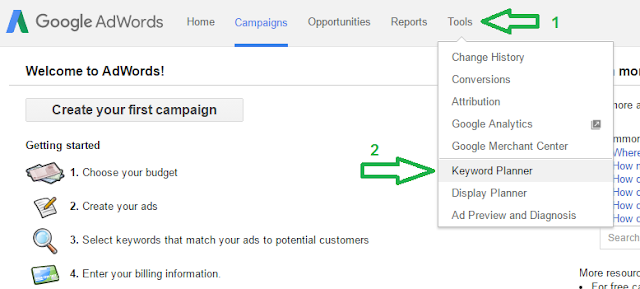 How To Use Google Keyword Planner-2