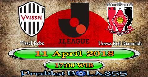 Prediksi Bola855 Vissel Kobe vs Urawa Red Diamonds 11 April 2018