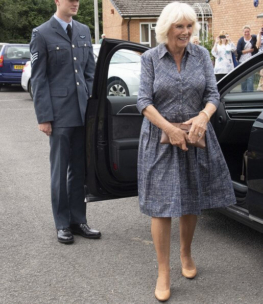 Prince Charles and Duchess Camilla attend the celebration of the 50th anniversary of Swansea's City status