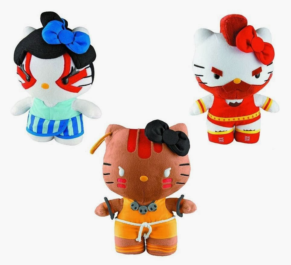 The Blot Says Sanrio X Street Fighter Hello Kitty