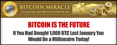 Bitcoin Miracle - Turn $15 Into $10 ,000 With Zero Work!