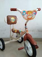 Sepeda Roda Tiga BMX Arava Alfrex Vintage Sandaran