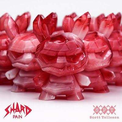 "Designer Con 2018 Exclusive Pain Shard Dunny 3"" Resin Figure by Scott Tolleson x Kidrobot"