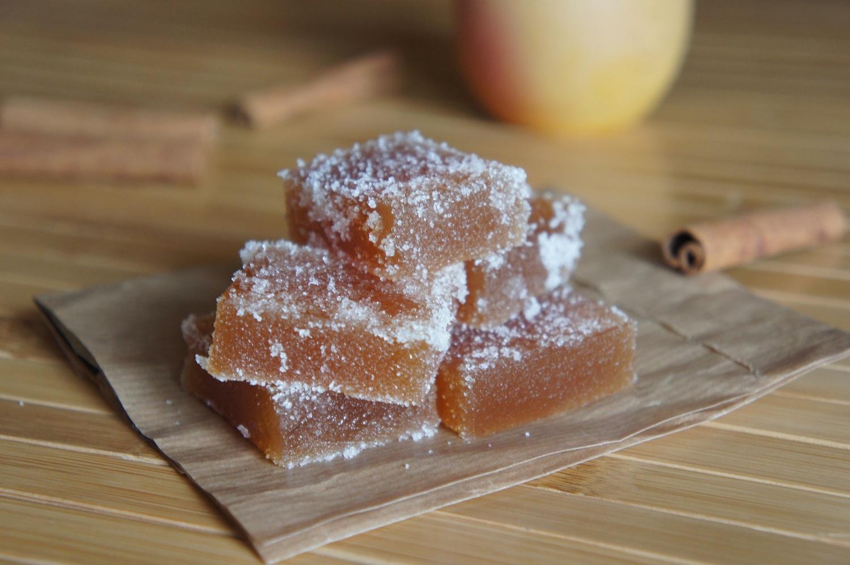 P te de fruits pomme cannelle - Pate de fruit maison ...