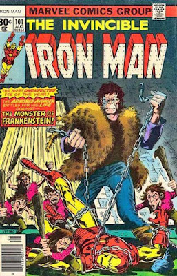 Iron Man #101, the Frankenstein Monster