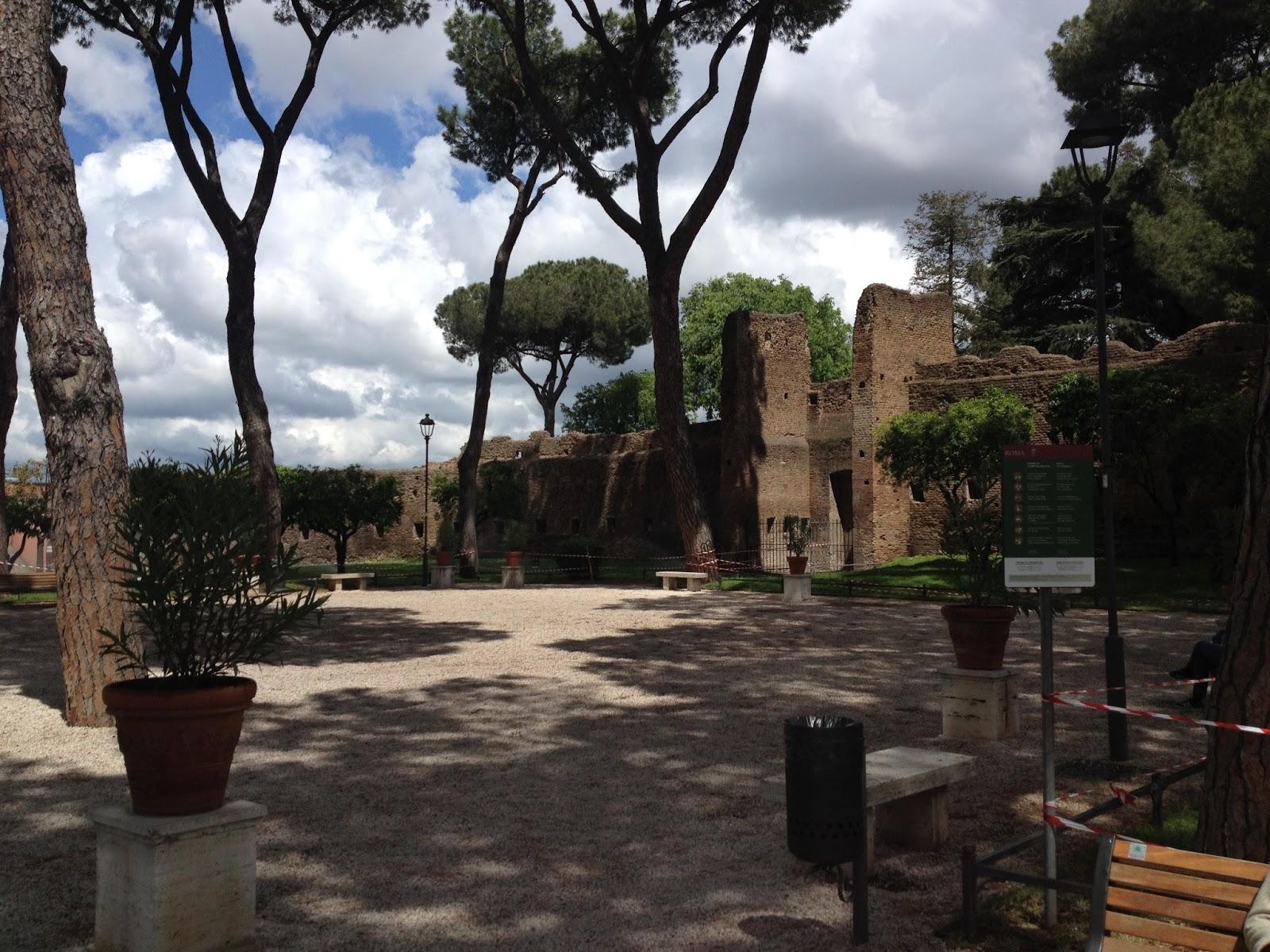 In bici per roma il giardino degli aranci ancora pi bello - Giardino degli aranci frattamaggiore ...