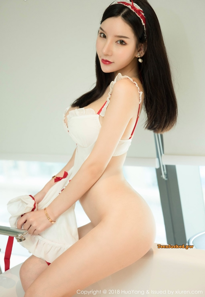HuaYang 2018 10 12 Vol.089 Zhou Yuxi MrCong.com 025 wm - HuaYang Vol.089: Người mẫu Zhou Yuxi (周于希) (43 ảnh)
