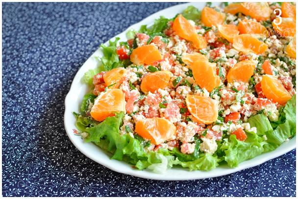 salada espinafre cru receita