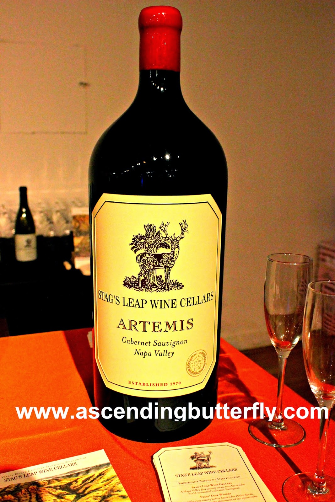 Stag's Leap Wine Cellars Artemis Cabernet Sauvignon Napa Valley The Luxury Review Fall 2014