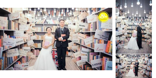 ảnh cưới chụp tại phim trường