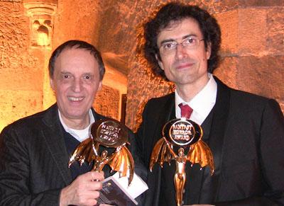 Dario Argento e Marco Werba