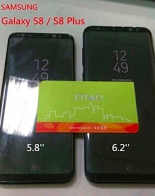 Harga Dan Spesifikasi Samsung Galaxy S8 dan S8 Plus