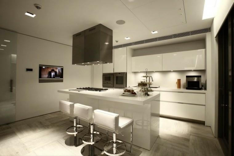 BLOG EN LÍNEA RECTA: Diseño de una cocina americana moderna