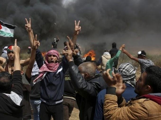 Israel pide detener fuerza letal durante protesta en Gaza
