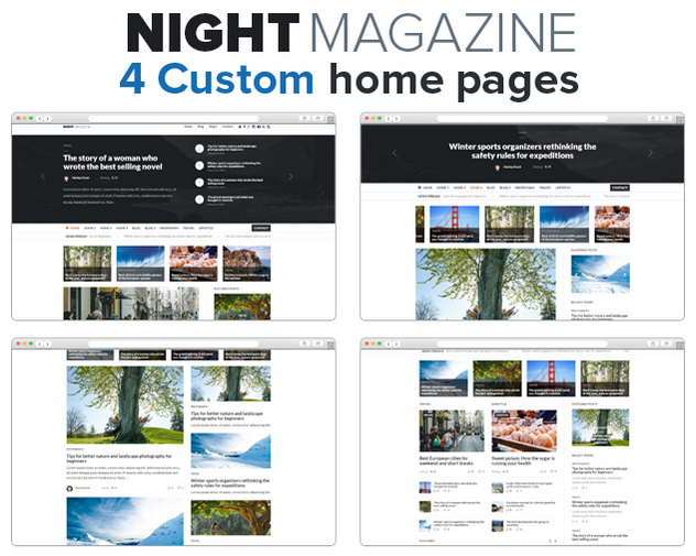 Best Responsive News and Magazine WordPress Theme 2015