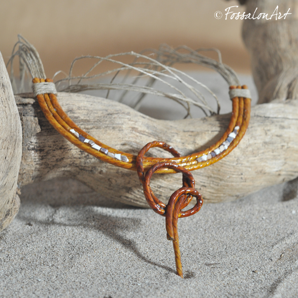 incontrare 720da 58968 FossalonArt | Bijoux in corda, sabbia, legno e frammenti di ...
