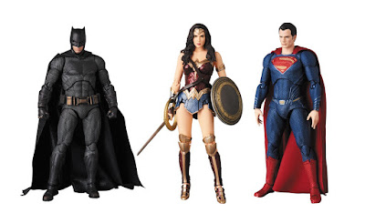 Justice League Movie MAFEX Action Figures by Medicom