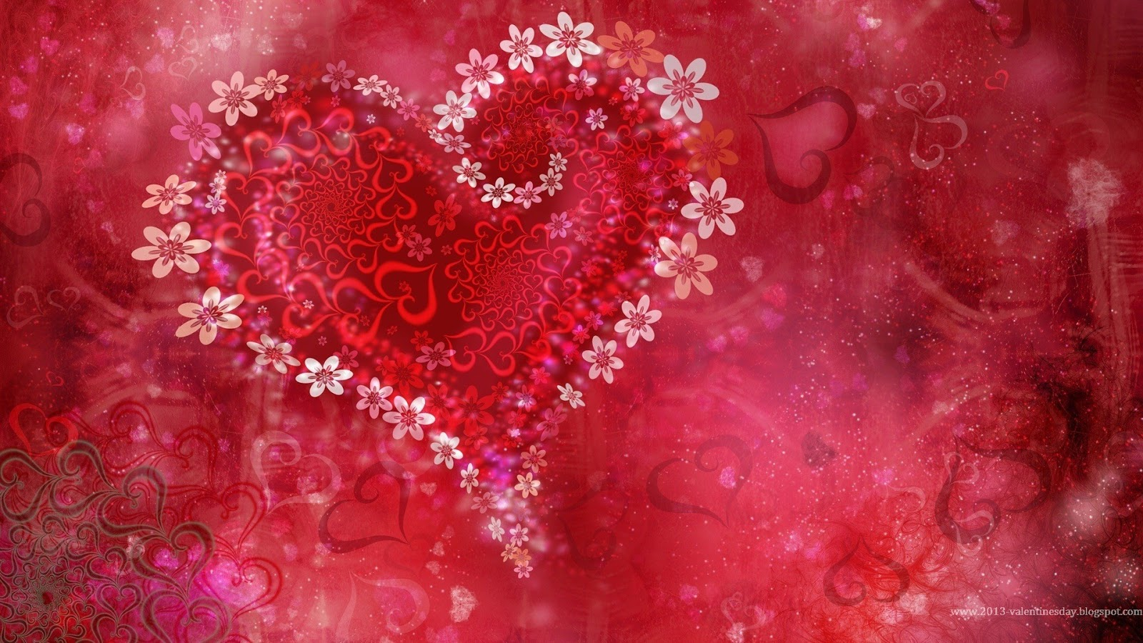 Valentines day hearts HD wallpapers 1024px and 1920px  Valentineu002639;s Day