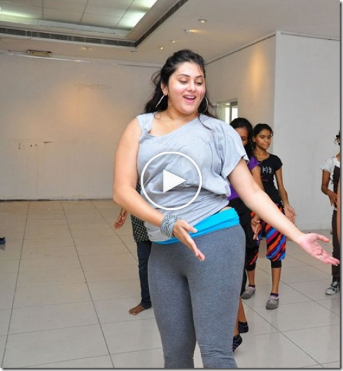 Actress Namitha Bold Dance Practice Leaked Unseen
