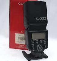 Jual Canon Speedlite 430 EXII Bekas