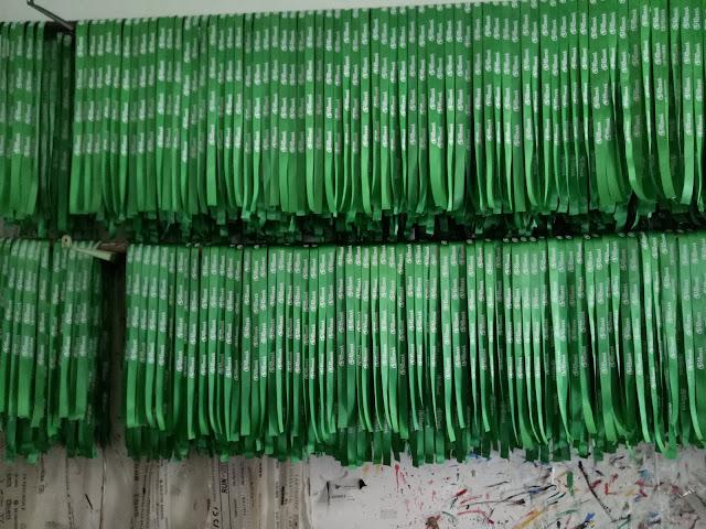 Hasil produksi tali lanyard murah di jakarta