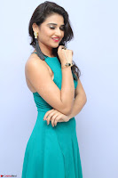 Priya Singh in a sleeveless Green Gown at Manasainodu music launch 011.08.2017 ~ Exclusive Celebrity Galleries 053.JPG