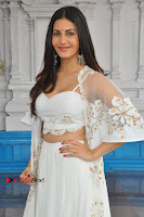 Telugu Actress Amyra Dastur Stills in White Skirt and Blouse at Anandi Indira Production LLP Production no 1 Opening  0095.JPG