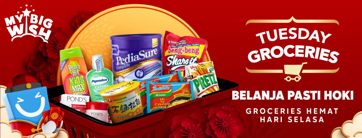 #BliBli - #Promo Belanja Selasa Hemat Pasti HOKI (29 Jan 2019)