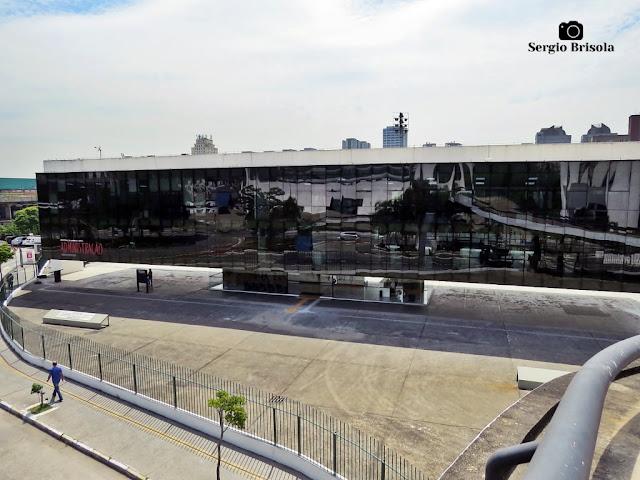 Vista ampla do Edifício Administrativo - Memorial da América Latina - São Paulo