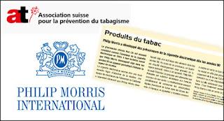 AT Suisse réécrit l'histoire au profit de Philip Morris