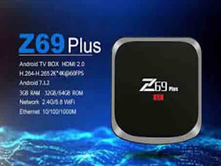 ANDROID TV BOX Z69 PLUS S912 3GB 64GB