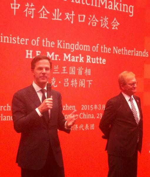 荷蘭首相與經濟代表
