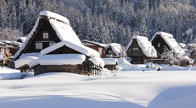 du lịch Nhật Bản vào mùa đông  2