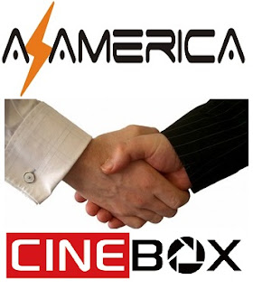 Resultado de imagem para AZAMERICA E CINEBOX