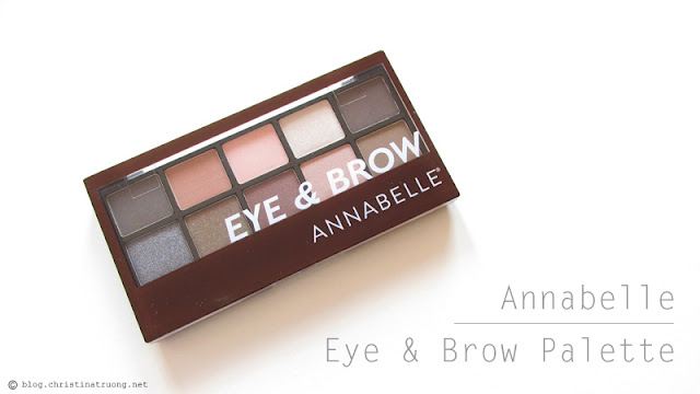 Annabelle Cosmetics Eye & Brow Palette Review and Swatches