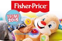 Logo Fisher-Price ti regala un buono sconto con promo 20 + 5