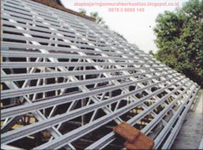 menghitung biaya rangka atap baja ringan