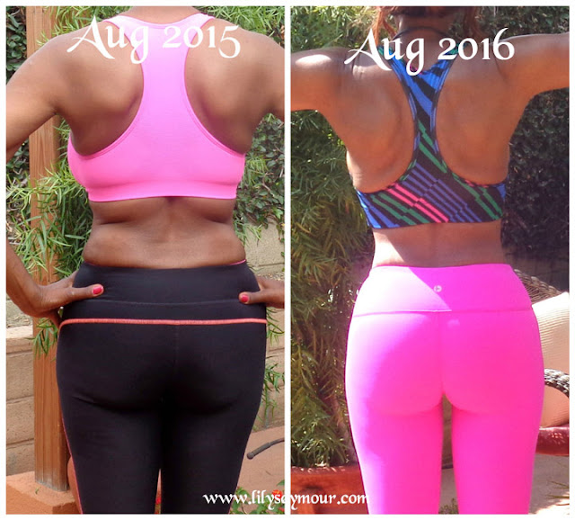 Fitness Transformation & Weight Loss Anniversary