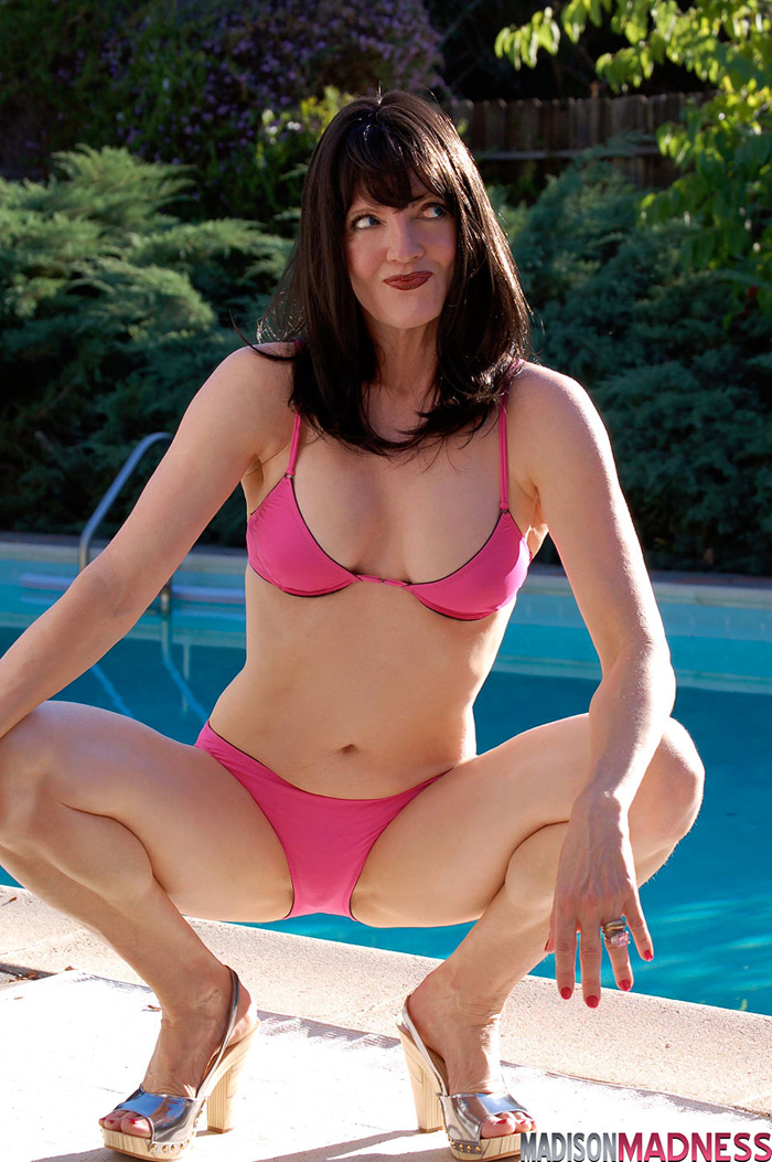 Bikini mature women in swimsuits