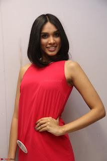 Spatika Surapaneni in Red Tight Dress at FBB Miss India 2017 finalists at Telangana auditions Feb 2017 (52).JPG