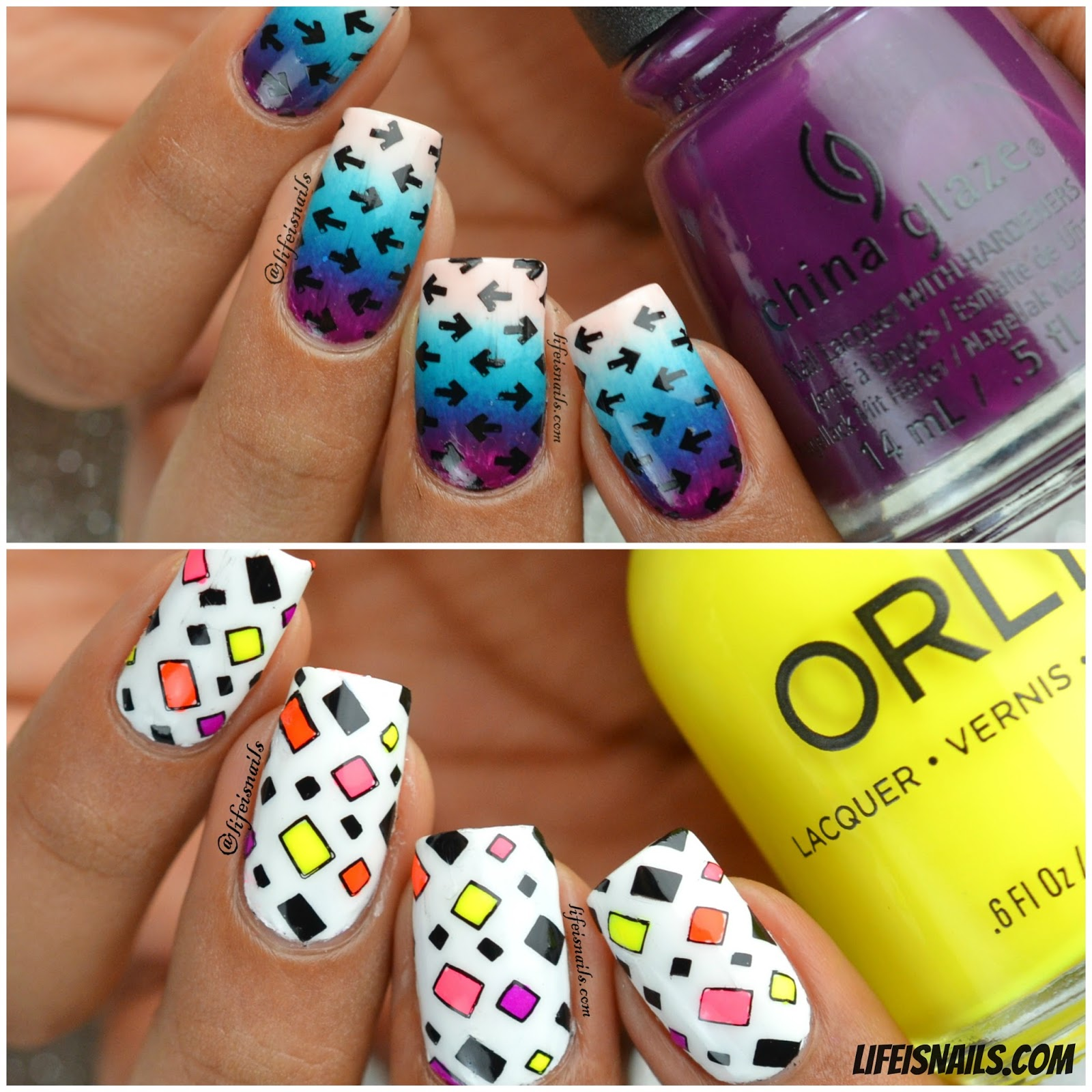 Nail Art & Review - LadyQueen Stamping Plates & Stamper ~ Lifeisnails