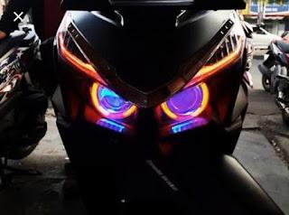 125 modifikasi lampu motor vario paling keren