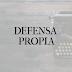 Defensa propia