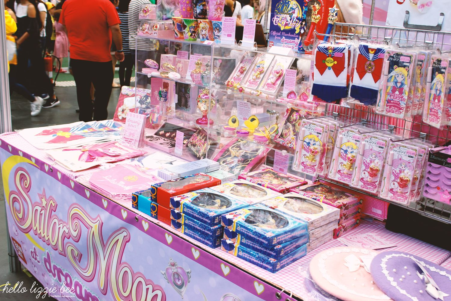 dreamy bows, sailor moon, hyper japan