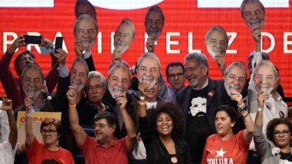 Lula afirma que en octubre se rescatará la democracia en Brasil