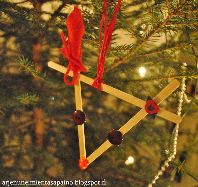 joulukoriste, lapsen, tekemä