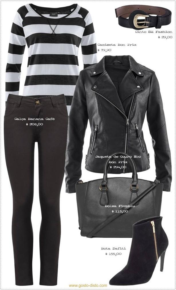 Como usar jaqueta de couro no inverno brasileiro