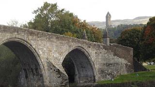 Stirling régi kőhídja, a nagy csata helyszíne