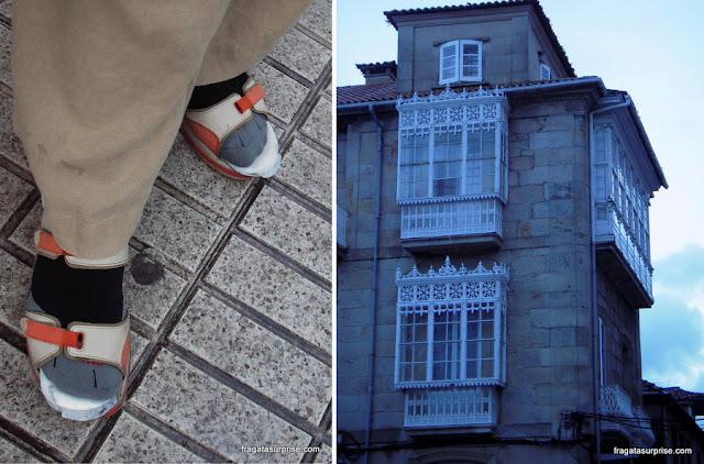 Truque para evitar bolhas nos pés no Caminho de Santiago