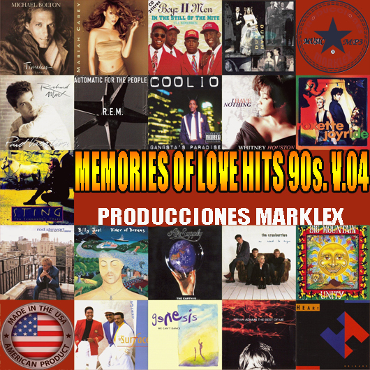 MEMORIES OF LOVE HITS 90s. V.04